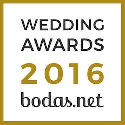 Juan Carlos Corchado, ganador Wedding Awards 2016 Bodas.net