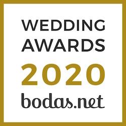 Juan Carlos Corchado, ganador Wedding Awards 2020 Bodas.net